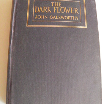 The Dark Flower by John Galsworthy,c1913 - Books