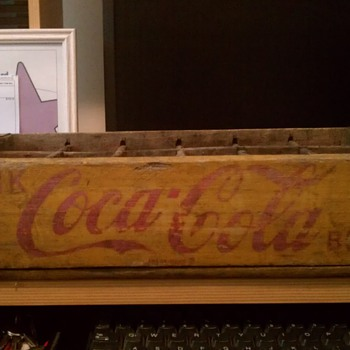 Coca-Cola Wooden Bottle Crate