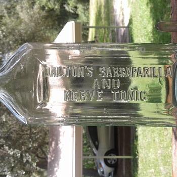 Dalton's Sarsaparilla And Nerve Tonic Belfast Maine USA