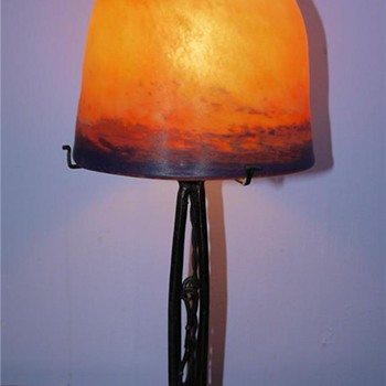 1920's French Art Deco Lamp - Art Deco
