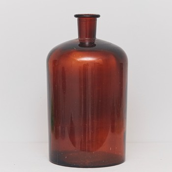 Large Bottle/Container (Holmegaards Glassworks, Denmark), Early 20th Century - Bottles