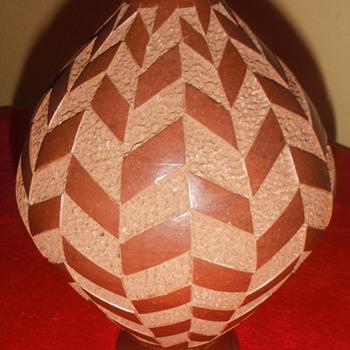 Juan Sanchez Nicaragua art pottery vase - Pottery
