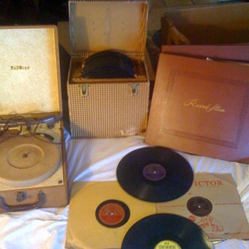 Dean Benedetti collection of Charlie Parker jazz records from 1940s  - Records