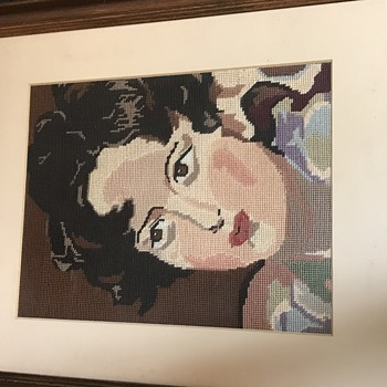 Beautiful Antique or Vintage Needlepoint