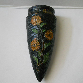 Japan Cone Wall Pockets - Art Pottery