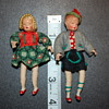 Bavarian miniature dolls