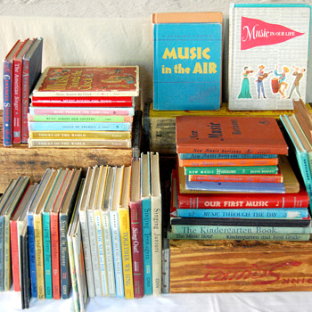 Vintage School Music Books - Books