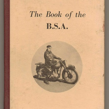 1954 - The Book of the B.S.A. (Motorcycles) - Books