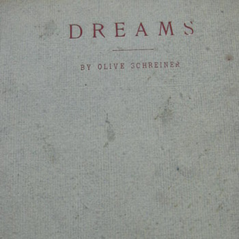 Dreams ..Roycroft Press.