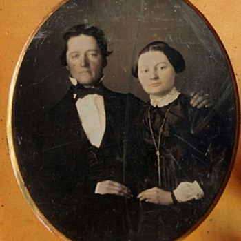 Bill and Hillary Daguerreotype