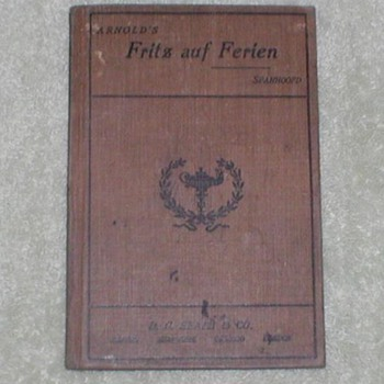 Arnold&#039;s Fritz auf Ferien - Books
