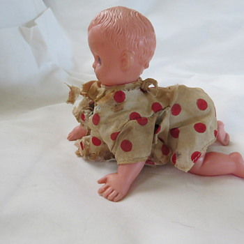 Windup Crawling doll