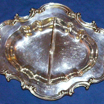 Reed &amp; Barton Silver serving dish
