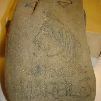 """AMERICAN INDIAN MARBLES BAG"" ANY IDEA OF AGE? - Games"