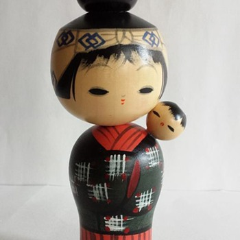 Modern Kokeshi Doll - Dolls