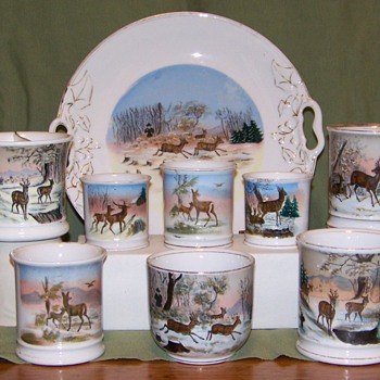 Deer in Winter RS Prussia pieces