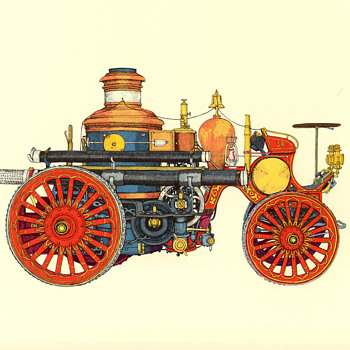 Evelyn Curro Firefighting Equipment Prints - Firefighting