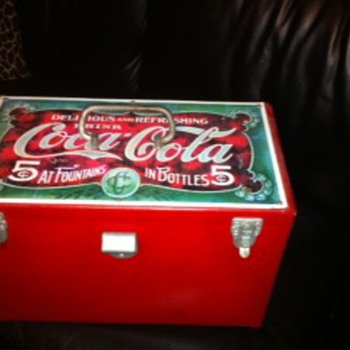 Rear cooler . The coca cola museum does not have this!  Trying to find it's value