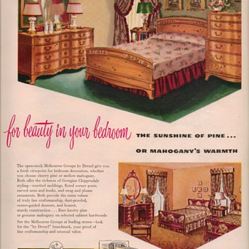 1950 Drexel Furniture Advertisements - Advertising