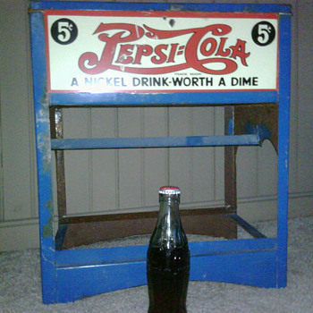 small pepsi cooler - Coca-Cola