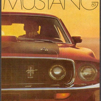 1969 - Mustang Mach I Collector Card - Cards