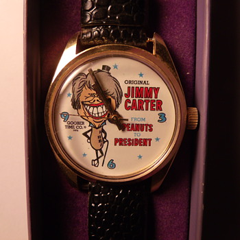 1976 Jimmy Carter Wrist Watch - Wristwatches