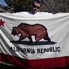 "1953 canvas California Republic ""Bear"" Flag"