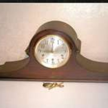 SETH THOMAS CHIME 90 - 1928 WESTMINSTER TAMBOUR CLOCK