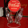 coca cola bottle display