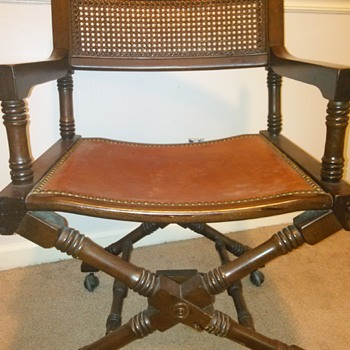 Antique Studio Chair