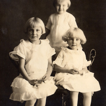 My Mom and 2 of her siblings - Photographs
