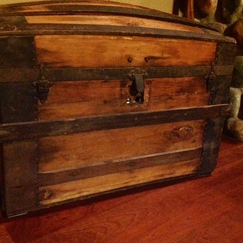 M.M. Secor Travel Chest - Hardware and Age Help