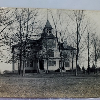 CREEPY--I WOULDN'T WANT TO LIVE HERE, FOREBODING, NO? - Postcards