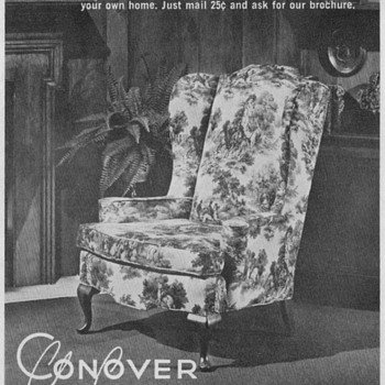 1968 - Conover Chair Advertisement - Advertising