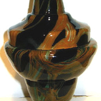 Following Ruckl Decors & Shapes with tentative attributions. - Art Glass