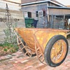 Wheelbarrow(old cement mixer)