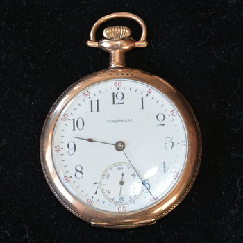early 1900's  Waltham 'Montauk' Pocket Watch - Pocket Watches