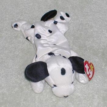 """1996 - TY Beanie Baby """"Dotty"""" Dalmatian"""