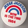 Jesse Jackson Campaign Button 1984 Election
