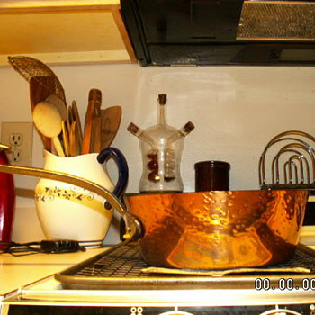 Baumalu French Copper Splayed-Sided Sauce Pan