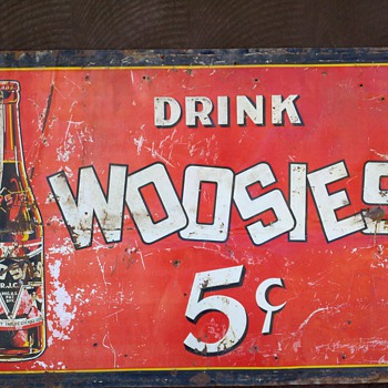 WOOSIES SODA SIGN - Signs