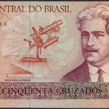 Brazil - (50) Cruzados Bank Note