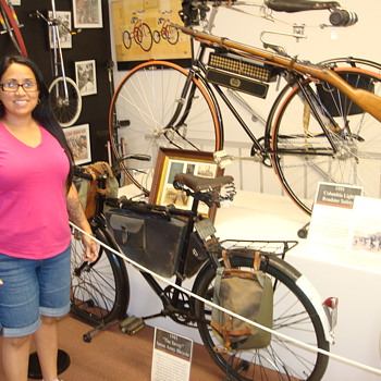 A War Time Bicycle Display - Military and Wartime