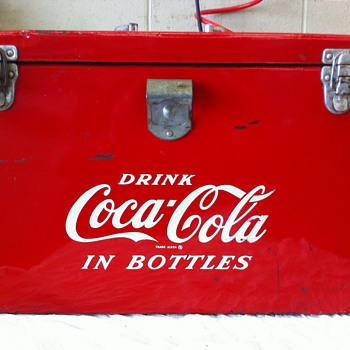1950's Coca Cola Airline cooler