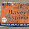 Bayer Aspirin Sign