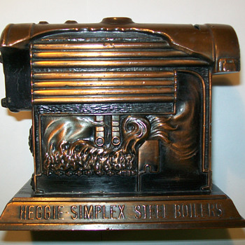 Heggie-Simplex Boiler Coin bank