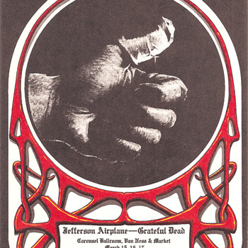 Sore Thumb, Alton Kelley, 1968 - Posters and Prints