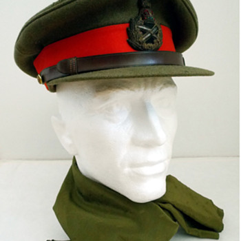 WW2 British General's Service cap.