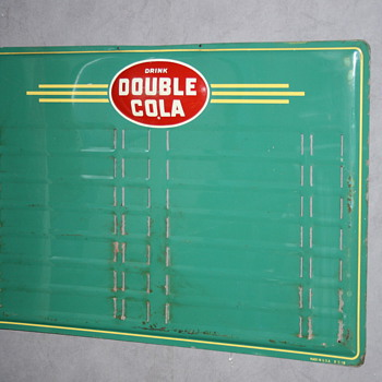 double cola sign - Signs