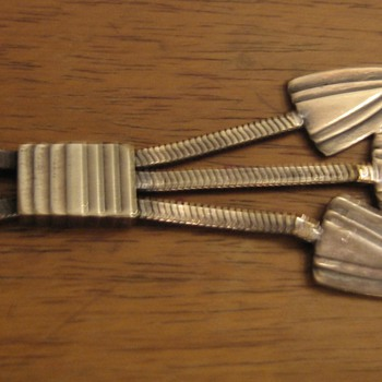 Es plata. 1940's? unmarked sterling arrow necklace - Fine Jewelry
